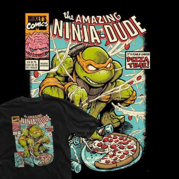 Amazing Ninja Dude T-shirt
