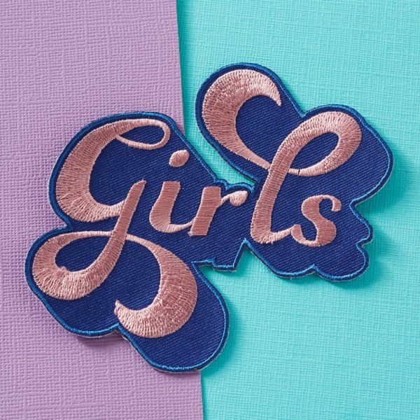 Punky Pins Girls Patch