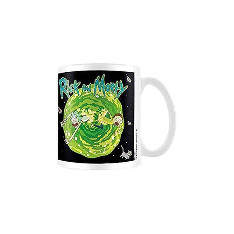 Rick & Morty: Floating Cat Dimension Mug
