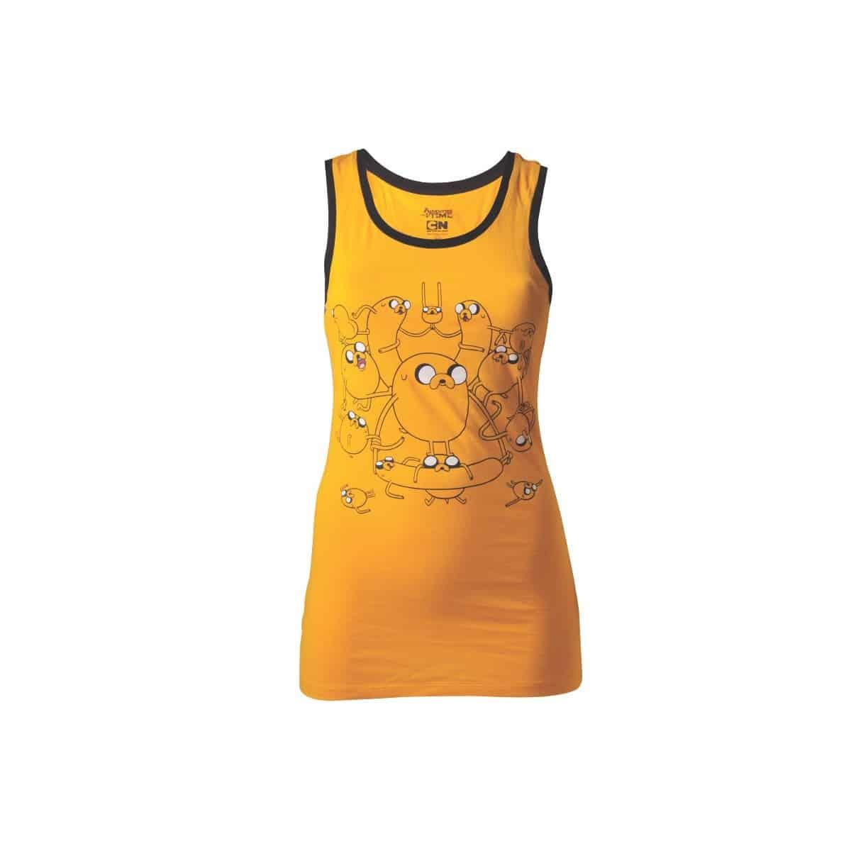 Adventure Time Ladies Tank Top Jake