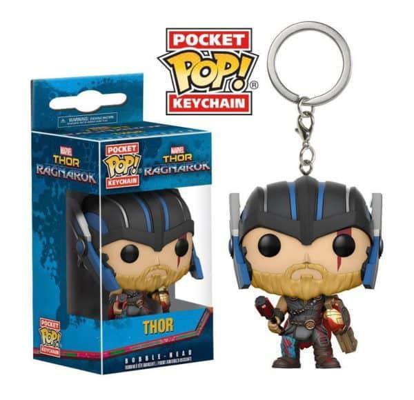 Funko POP! Thor Ragnarok Pocket Vinyl Keychain Thor (Gladiator Suit) 4 cm