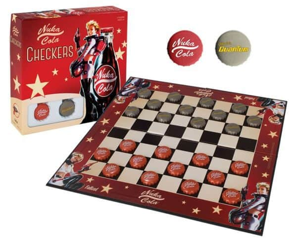 Fallout Boardgame Checkers Nuka Cola