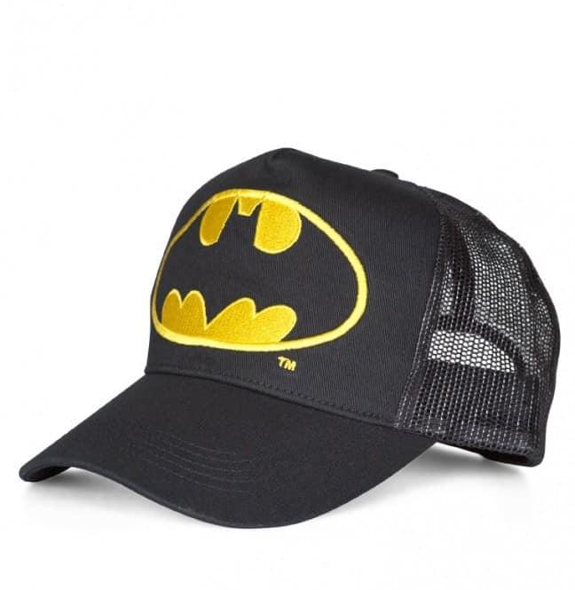 Batman - Logo - Trucker Cap embroidered - black