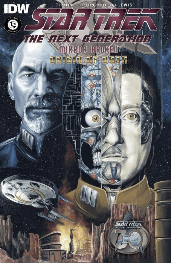 Comic: Star Trek TNG: Mirror Broken Origin of Data