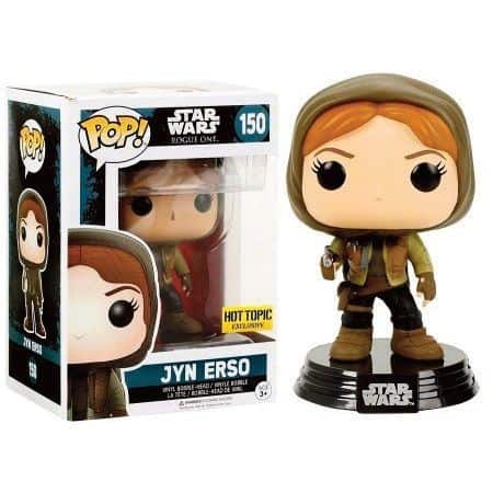 Funko POP! SW Rogue One - Jyn Erso hooded Vinyl Figure 10cm limited
