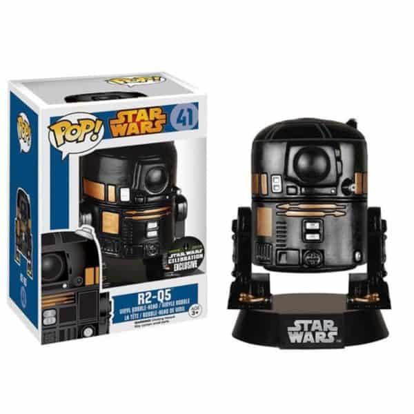 Funko POP! SW R2-Q5 Vinyl Figure 10cm Exclusive SW Celebration 2015