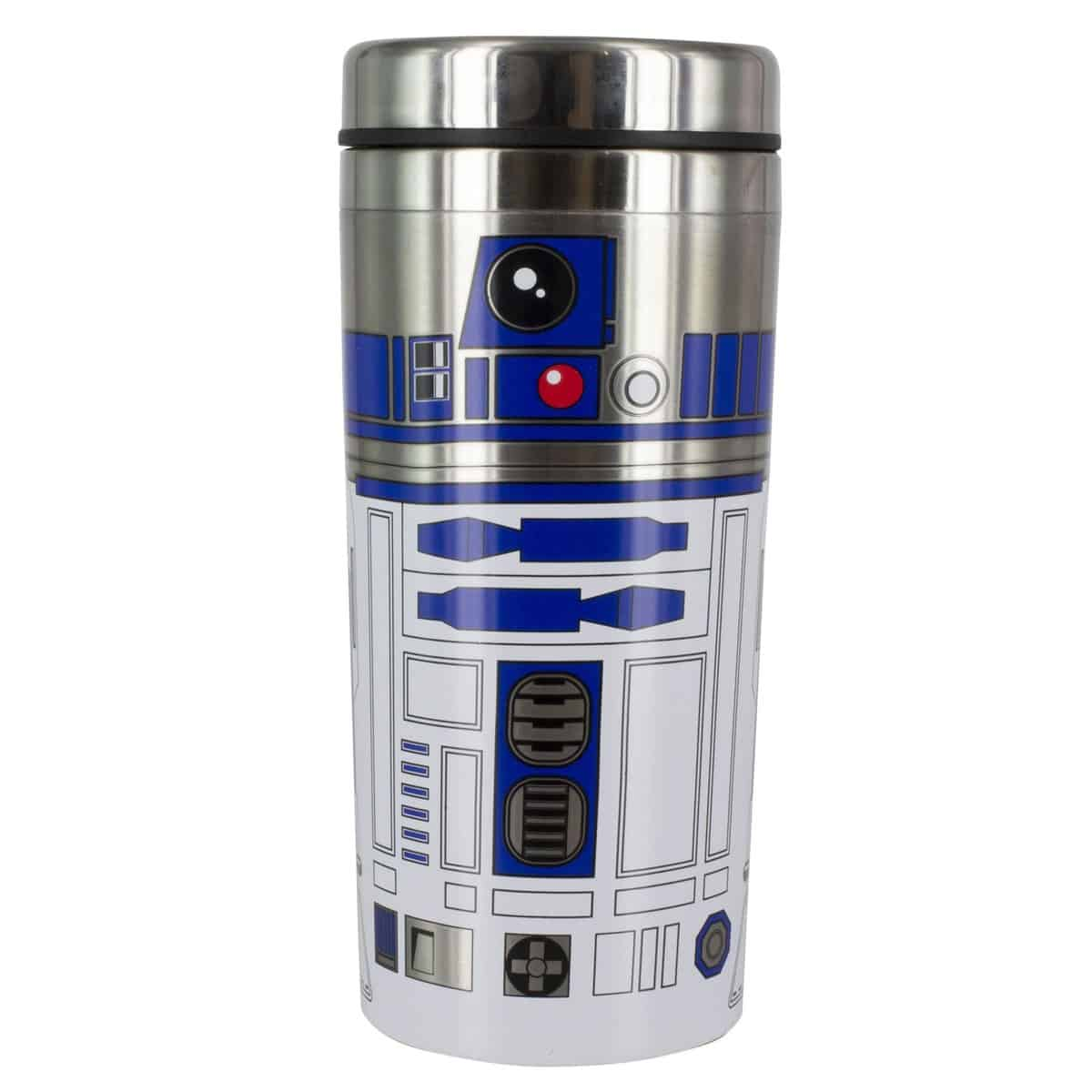Star Wars The Last Jedi: R2 D2 Character Travel Mug