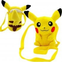 Pokémon Plush Shoulder Bag Pikachu 16 cm
