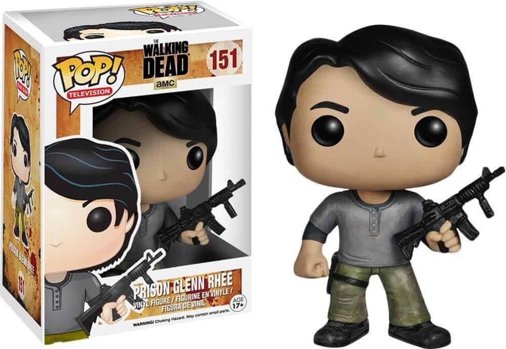Funko POP! T.V. Walking Dead Vinyl Figure Prison Glenn 10 cm