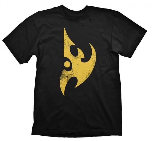 Starcraft II T-Shirt - Protoss Logo Vintage Yellow