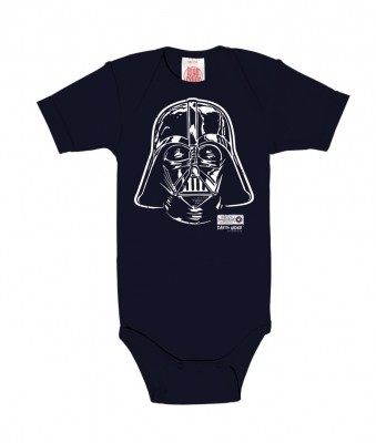 Star Wars - Darth Vader - Port Baby Body - Navy