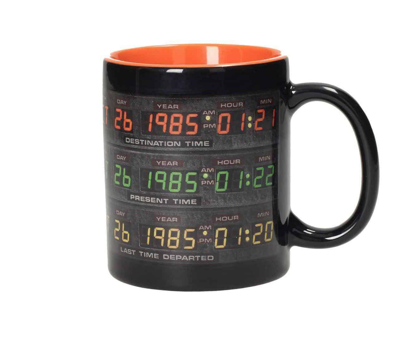 Back to the Future Mug Control Panel