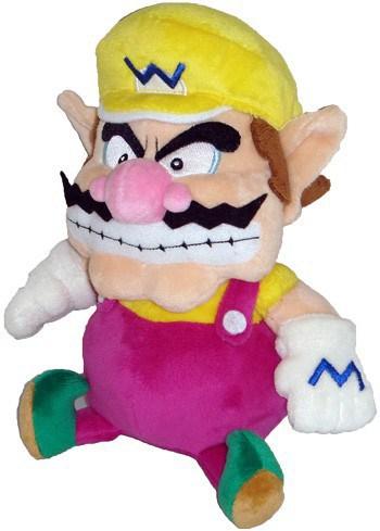 Super Mario Bros.: Wario 7 inch Plush