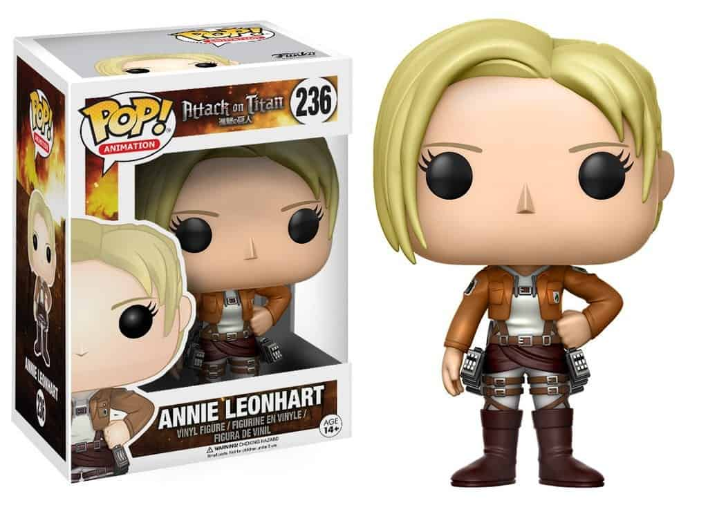 Funko POP! Attack On Titan - Annie Leonhart Vinyl Figure 10cm