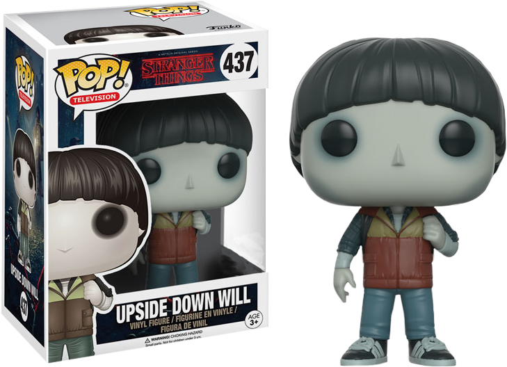 Funko Pop Tv Stranger Things Upside Down Will Le