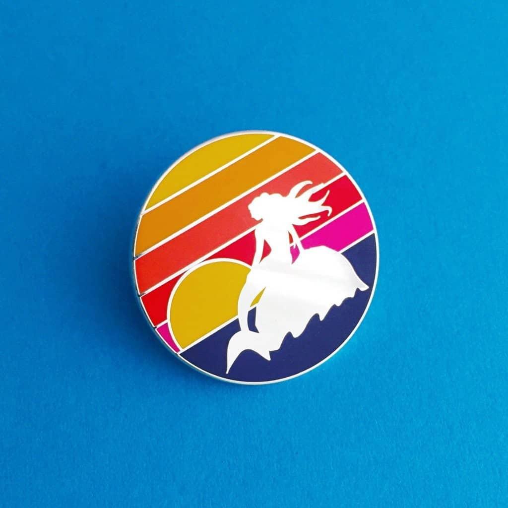 HOYFC Mermaid Sunset Pin
