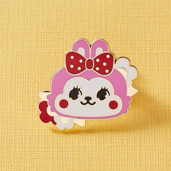 Punky Pins Retro Cuties Bunny Pin