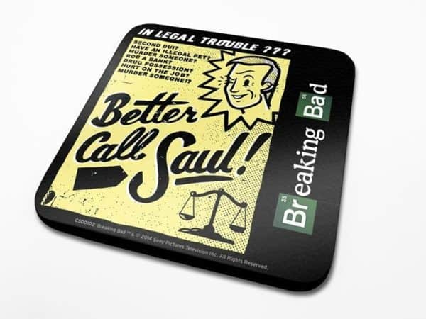 Breaking Bad Coaster Better Call Saul