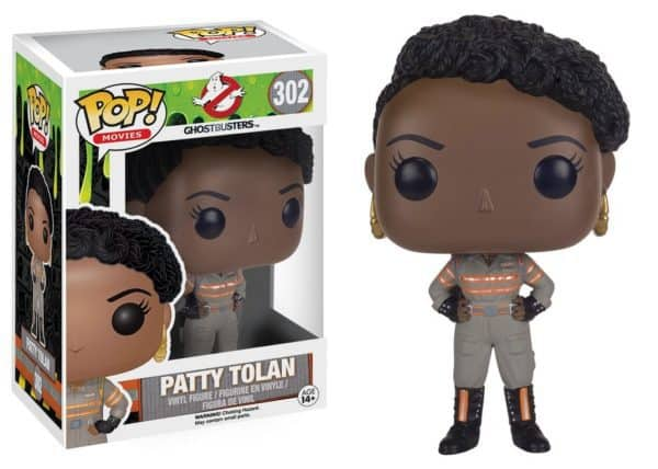 Funko POP! Ghostbusters 2016 - Patty Tolan Vinyl Figure 10cm