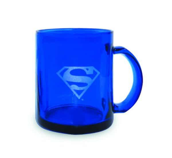 DC Universe: Superman Blue Translucent Mug