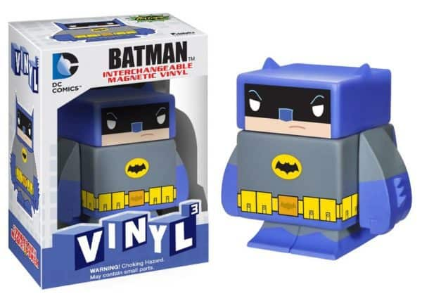 Funko Vinyl Cubed: DC - Blue Batman Interchangeable Magnetic 7cm