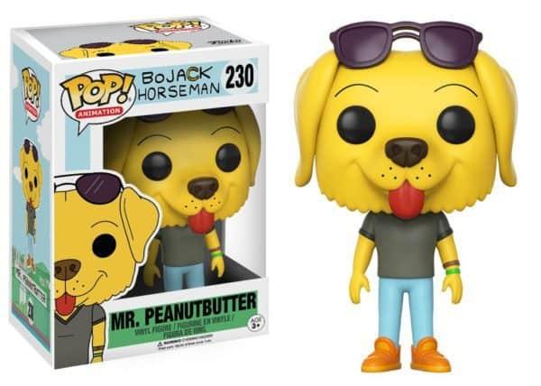 Funko POP! Bojack Horseman - Mr. Peanutbutter Vinyl Figure 10cm