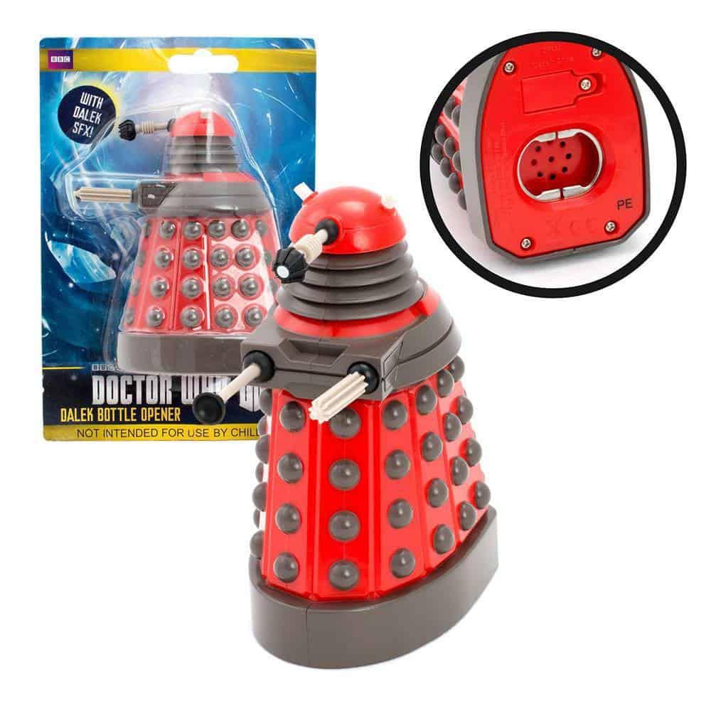 Doctor Who Talking Bottle Opener Dalek