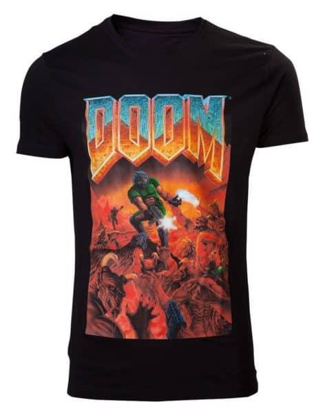 DOOM - Classic Boxart Crewneck T-shirt