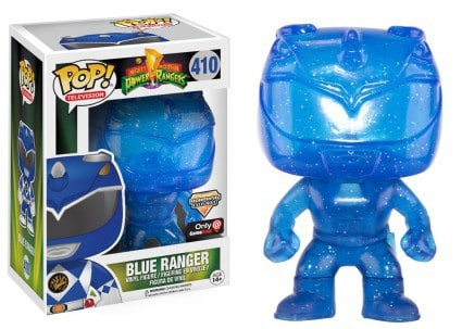 Funko POP! TV: Power Rangers - Blue Ranger Morphing LE