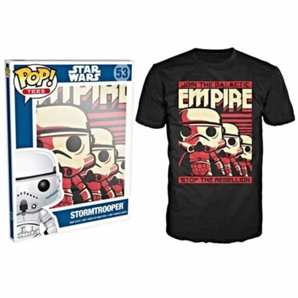 Funko POP! Tees - SW: Empire Stormtrooper