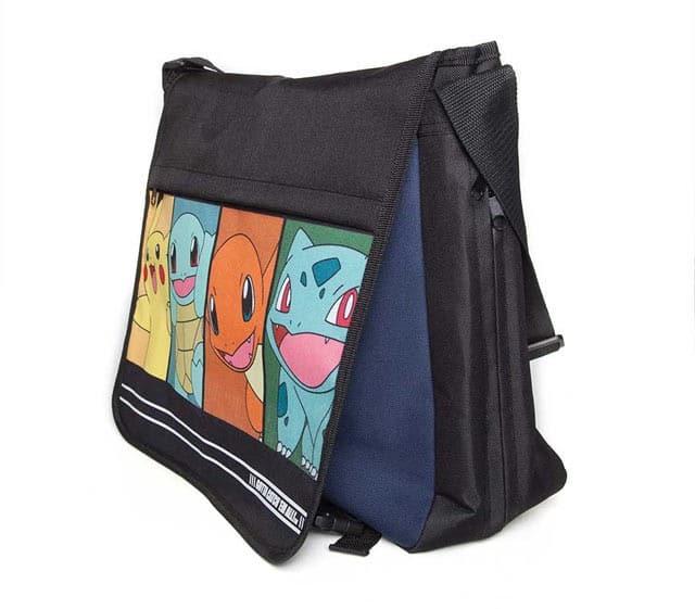 Starter Pokemon Messenger Bag