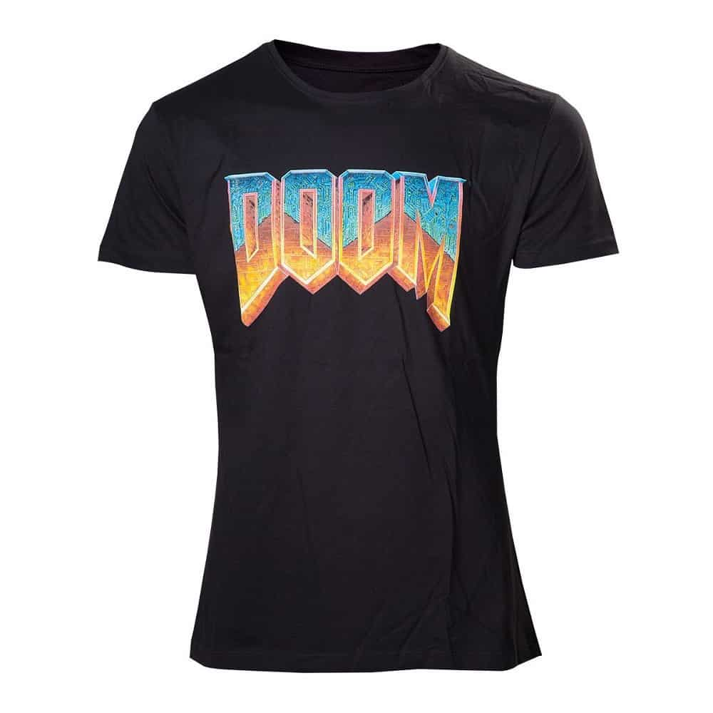 DOOM - Men's T-shirt vintage logo t-shirt