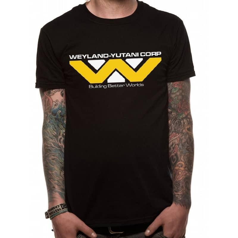 Aliens T-Shirt Weyland-Yutani Corporation