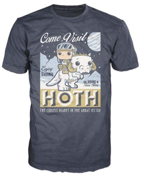Funko POP! Tees – SW: Visit Hoth