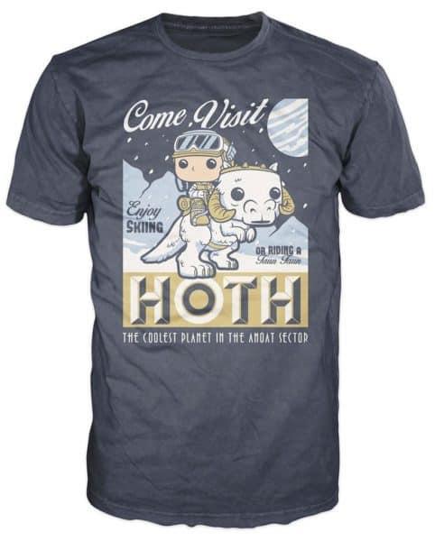 Funko POP! Tees - SW: Visit Hoth