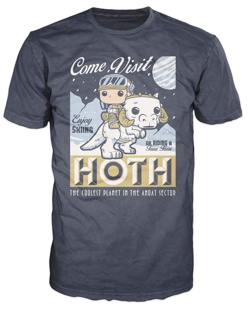 Funko POP! Tees - SW: Visit Hoth