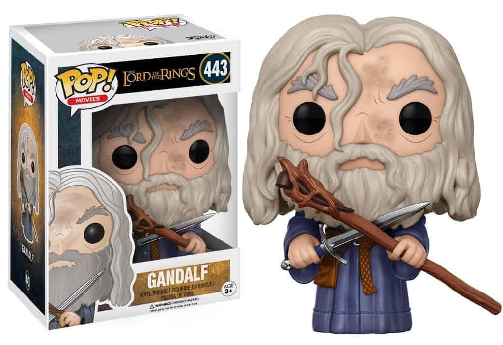 Funko POP! Movies Lord Of The Rings - Gandalf Vinyl Figure 10cm