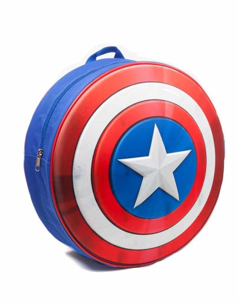 Captain America - Cap's Shield Kid's Molded Backpack
