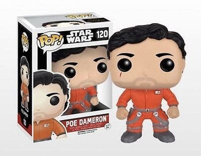 Funko POP! SW VII - Poe Dameron Jump Suit Bobble Head 10cm limited