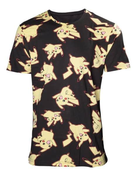 Pokémon Pikachu Allover Print T-shirt