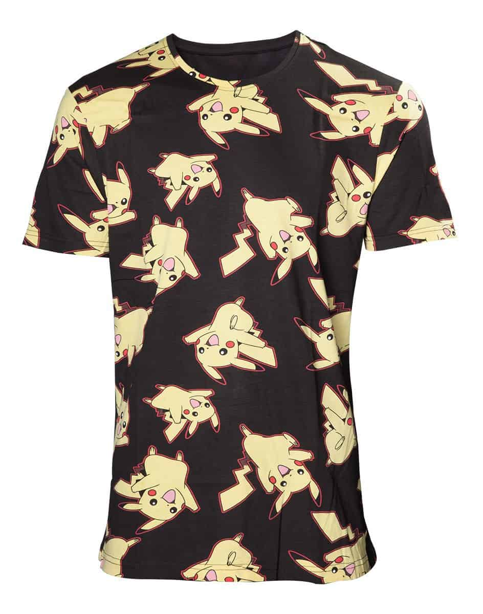 Pokémon Pikachu Allover Print T-shirt