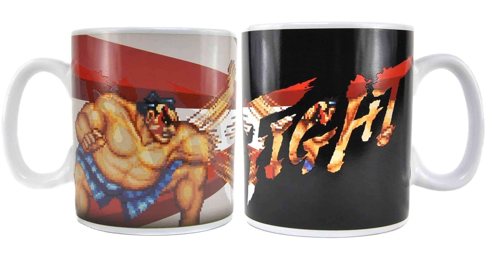 Street Fighter Heat Change Mug Honda