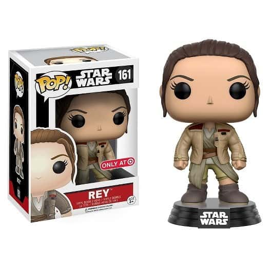 Funko POP! - SW: Rey in Finn's Jacket Vinyl Figure 10cm