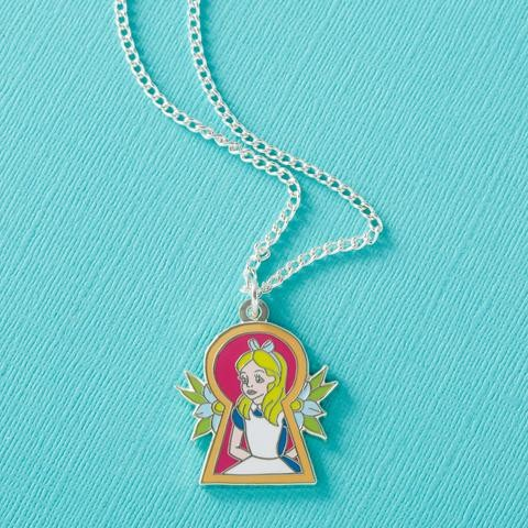 Alice in Wonderland Keyhole Necklace