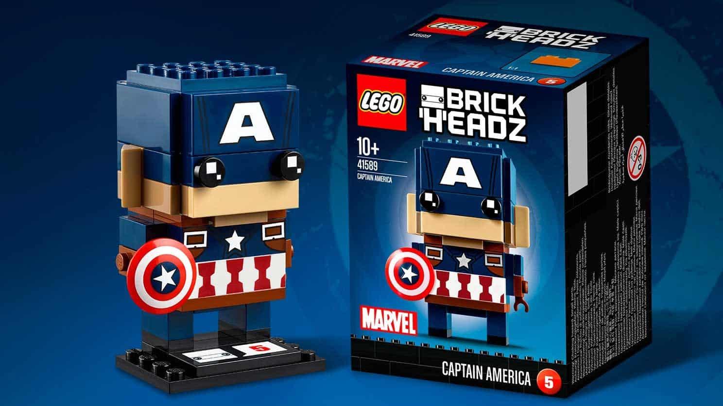 LEGO® BrickHeadz Captain America Civil War Captain America