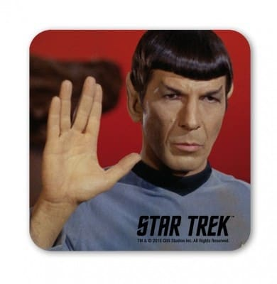 Star Trek - Spock - Live Long And Prosper - Coaster