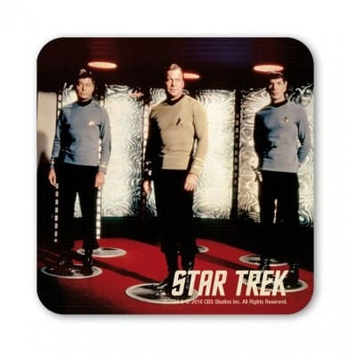 Star Trek - Mc Coy, Kirk, Spock Beaming - Coaster