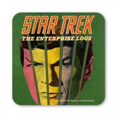 Star Trek - Spock - The Enterprise Logs - Coasters