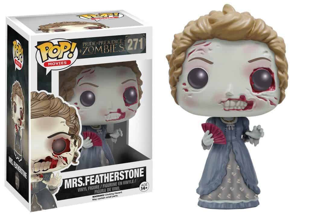 Funko POP! Pride, Prejudice + Zombies - Mrs Featherstone Vinyl Figure 10cm