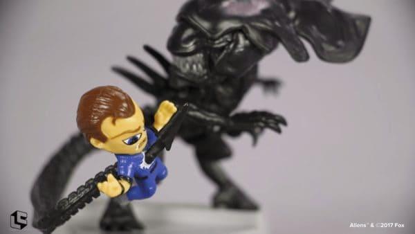 Queen takes Bisshop figurine